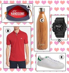 FOR MEN www.theteelieblog.com  For your beau, here are gifts that will instantly put a smile on his face. #TeelieBlog