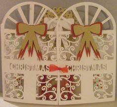 Craft Robo Gsd File Template Christmas Front Door Card
