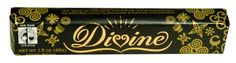 Divine Chocolate Bar - Dark Chocolate - Snack - 1.5 oz Bars - Case of 30
