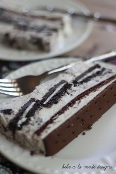 cookie and cream ice cream cake