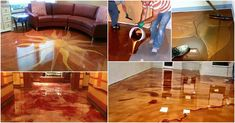 50 Amazingly Clever Cheat Sheets To Simplify Home Decorating Projects - DIY & Crafts Metal Floor, Floor Art, Metallic Epoxy Floor, Interior Exterior, Interior Design, Interior Ideas, Diy Garden Decor, Floor Design, Home Repair
