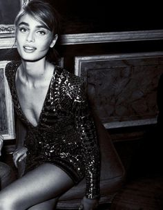 midnight-charm:  Taylor Hill photographed by Matias Indjic for...
