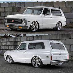 "Chevy C - 10 Blazer, Hammered, In ""Pearl White"" Finish!... ;)"