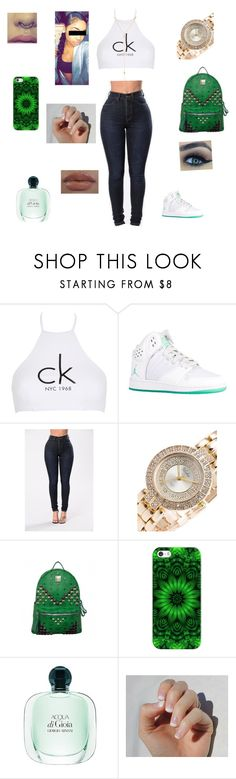 """Moná"" by kura01 ❤ liked on Polyvore featuring Calvin Klein, MCM, Casetify, SoGloss, Fragments and wattpad"
