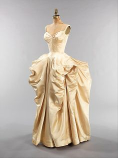 Yes, please. Silk ball gown -- Charles James, 1951