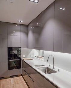 Modern And Trendy Kitchen Cabinets Ideas And Design Tips – Home Dcorz Kitchen Cabinet Design, Kitchen Remodel, Modern Kitchen, Luxury Kitchen, Elegant Kitchens, Kitchen Room Design, Kitchen Furniture Design, Simple Kitchen Design, Kitchen Layout