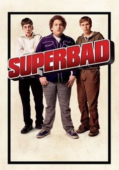 Superbad - Director: Greg Mottola Stars: Michael Cera, Jonah Hill, Christopher Mintz-Plasse Two co-dependent high school seniors are forced to deal with separation anxiety after their plan to stage a booze-soaked party goes awry. Funny Movies, Top Movies, Comedy Movies, Great Movies, Funniest Movies, Awesome Movies, Movies Free, Funny Comedy, Indie Movies