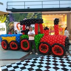 Balloon Cars, Balloons, Circus Clown, Thomas The Train, Balloon Decorations, Business, Vehicles, Train, Sculpture