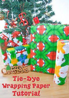 Tie-Dye Wrapping Tis