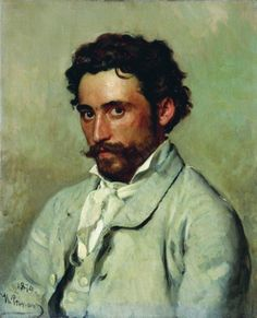 Портрет Юркевича. 1879. Илья Ефимович Репин