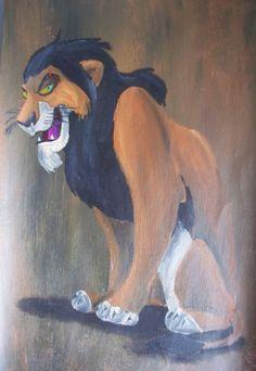 Scar by Billy Wallwork Disney Movie Characters, Best Disney Movies, Disney Villains, Disney Stuff, Scar Lion King, King Simba, Hakuna Matata, Photo To Cartoon, Le Roi Lion