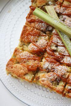 Rhubarb Tea, Rhubarb Syrup, Sweet Pie, Something Sweet, Quiche, Strawberry, Bread, Baking, Breakfast
