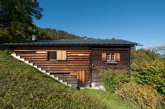 Gugalun House (Haus Truog Gugalun). Versam, Switzerland. Peter Zumthor, 1994