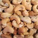 Dry Roasted Cashews (Salted) - 20 lbs
