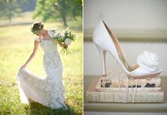 Cute shoes, but maybe in a different color and less of a heel.  Photo by Harwell Photography