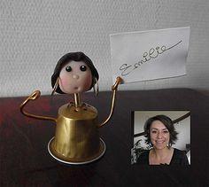 Porte nom capsule et p te fini nespresso what else for Porte capsule mural nespresso