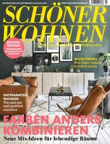SCHÖNER WOHNEN #07/2017 Cover