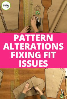 In this class you will learn how to do basic pattern alterations on several different pattern pieces. Ashley Hough will teach you how to alter shirt necklines and backs, shirt sleeve, skirts and pants.