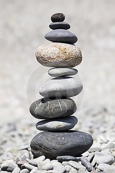 The Art of Balancing Stones. Zen. Balance.