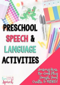 Preschool Speech & L