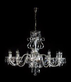 Super interior crystal lamp.