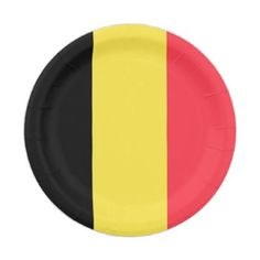 Belgium Flag Paper Plate  sc 1 st  Pinterest & Patriotic paper napkins with Spain flag - elegant gifts gift ideas ...