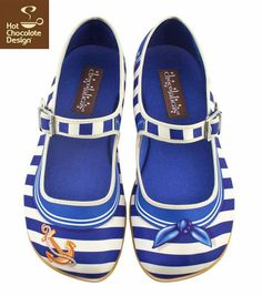 Sailor -hot chocolate shoes
