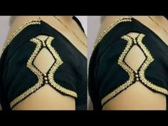 बाजु कट क्रिएटिव ब्यूटीफुल स्लीव डिजाईन ll easy making Blouse Designs High Neck, Simple Blouse Designs, Neck Designs For Suits, Sleeves Designs For Dresses, Stylish Blouse Design, Designer Blouse Patterns, Fancy Blouse Designs, Sleeve Designs, Latest Blouse Neck Designs