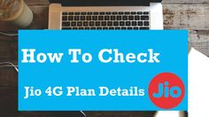 You can check your Jio 4G Plan details on MyJio app or Jio.com website. Here Is The Step By Step Method To Check Jio 4G Plan Details On MyJio App: How To Check Your Jio 4G Plan Details  Open MyJio app, login if using your Jio customer ID and password or skip sign in if you are using your Jio sim...