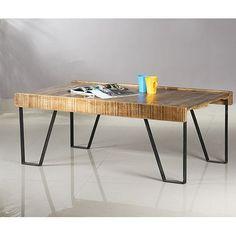 Industrial Coffee Table - La Rochelle 21% OFF | $259.00 - Milan Direct