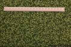 Blomster mark Patchworkstof - Grøn. Er et flot grøn patchwork stof med grønne blade. Køb hos HANNES patchwork