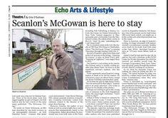 Irish Echo article on Seamus Scanlon's play, THE MCGOWAN TRILOGY. The Play is part of Origin's 1st Irish Festival and runs Thursdays - Sundays through October 5, 2014. http://mcgowan.bpt.me/