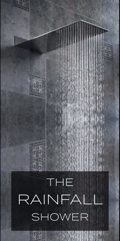 The Rainfall Shower - 50% Off Flash Sale