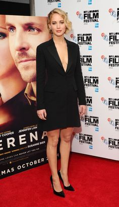 Pin for Later: That's a Wrap! See All the Stars Who Ditched Hollywood For the London Film Festival Jennifer Lawrence Jennifer Lawrence promoted her latest project, Serena, on Monday.
