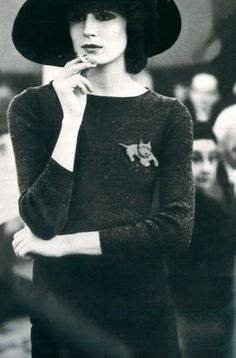 Anjelica Huston , Vogue Paris, 1971