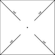 Pattern Pinwheel Template