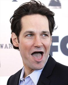 Hilarious and scary all at the same time. Be sure to brush, floss, and stay up to date on your dental checkups because even celebrities aren't attractive without teeth! Paul Rudd #dentalhumor #toofunny www.sallingtate.com