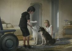 Noctis & Luna as Children