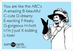 Oh My Freaking Stars!: ABC's