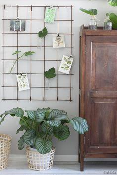 KUKKALA: Raudoitusverkko DIY + vihreää vieras-leikki-chillailuhuoneessa