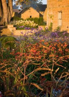 Farmhouse garden restoration in Great Tew estate, Oxfordshire