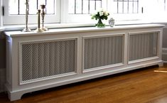 BACK BAY Radiator Cover by Fichman Furniture Smart living: Make of your radiator a small cute table! Back Bay Style Radiator Cover Baseboard Radiator, Baseboards, Radiator Screen, Baseboard Heater Covers, Custom Radiator Covers, Modern Radiator Cover, Home Radiators, Steam Radiators, Decoration Design