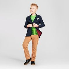 Target | Target.com | Cat & Jack  Blaze-a-Trail Boys' Outfit | A very dapper outfit...Picture it now! Your well-mannered little man at the dinner table impressing family. xoxo (scheduled via http://www.tailwindapp.com?utm_source=pinterest&utm_medium=twpin&utm_content=post113429483&utm_campaign=scheduler_attribution)