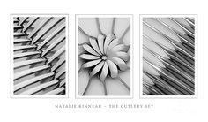 The Cutlery Set Triptych - Natalie Kinnear Photography - Print a Creative Portrait Photography, Headshot Photography, Flash Photography, Creative Portraits, Still Life Photography, Abstract Photography, Photography Ideas, Inspiring Photography, Photography Tutorials