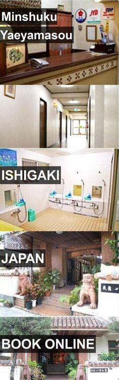 Hotel Minshuku Yaeyamasou in Ishigaki, Japan. For more information, photos, reviews and best prices please follow the link. #Japan #Ishigaki #travel #vacation #hotel