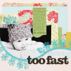 Baby Milestone Pages: Baby Characteristics Page