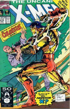 Colossus vs Professor X