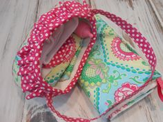 """Just Like Mommy Diaper Bag Wipe Case with Wipes by LimeSewda Chic Diaper Bag: - Designer 100% cotton material - Size: (6-1/2"""" h x 10w across front x side 1-1/2"""") - Fabric shoulder strap approx. 15"""" - 100% cotton batting"""