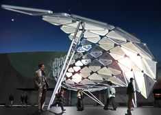 solar shift interactive light installation Evansville/ PROJECTiONE