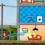 you are going to be fire fighter in top agency. Your task is obviously clear, stop all flames in a given level and help the people with out loosing their assets. It will not be easy to get to some of them, so you have to figure out how to do it.Play best free flash online puzzle games on win1game, you can play maximum exiting puzzle games like adventure puzzle bubble game, hidden object puzzle, cars games, puzzle games online, Fireman Games, Liquid Games